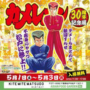 【カメレオン30周年記念展 in 松戸】